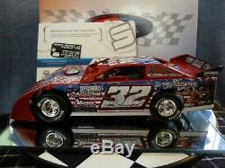 Bobby Pierce #32 1/24 2019 World 100 Dirt Late Model ADC