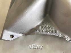Brand New Edelbrock 18 Degree Highport Alum Intake Dirt Late Model Imca Race Car