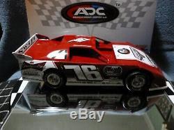 Brandon Overton #76 1/24 2016 Dirt Late Model ADC Budweiser Rare