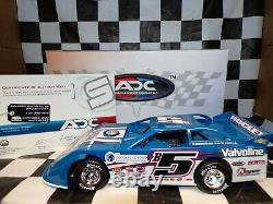Brandon Sheppard #5B Woodworth 2020 Dirt Late Model 124 scale car ADC DW220C249
