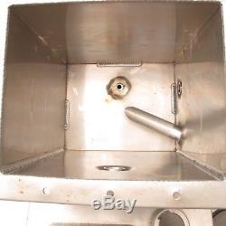 Butler Built 3 Gallon Aluminum Dry Sump Oil Tank RACOR Filter Dirt Late Model #8