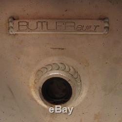 Butler Built 3 Gallon Aluminum Dry Sump Oil Tank RACOR Filter Dirt Late Model #9