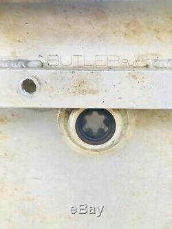 Butler Built 3 Gallon Dry Sump Tank With Oberg Dirt Late Model Imca Race Car