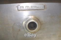 Butler Built Dry Sump Tank withRACOR Oil Filter Dirt Late Model IMCA UMP Petterson