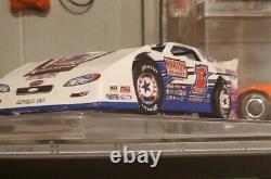 CUSTOM chub frank 124 scale dirt late model die cast car