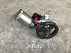 CV Alum Power Steering Pump & Tank Dirt Late Model Imca Race Car