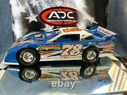 Chad Zobrist #78 1/24 2009 Dirt Late Model ADC Red Series Autographed