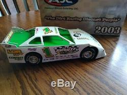 Charlie Swartz#1 Late model dirt car 2004 ADC 124 scale limited edition