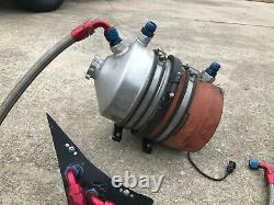Complete 4 Stage Dry Sump System Peterson Tank Dirt Late Model IMCA Race Car