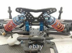 Custom Works 1/10 / 1/8 Dirt Late Model Roller Slider Chassis Custom Fiber Racer