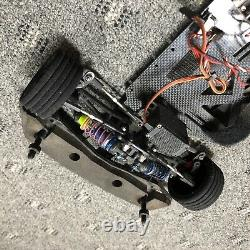 Custom Works 1/10 Late Model Wedge RC Oval Dirt Model Unknown withExtras