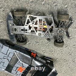 Custom Works Late Model Wedge RC Oval Dirt Package Model Unknown withMANY Extras