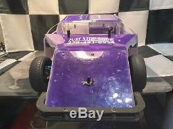 Custom Works Rocket 3 Midwest Modified Latemodel Mudboss Dirt Oval Race Car