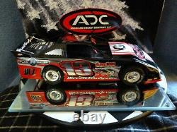Diecast Crazy #13 1/24 2013 Dirt Late Model ADC Camaro Red Series