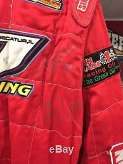 Donnie Moran Race Worn Drivers Firesuit Autographed Late model, Dirt, Outlaws