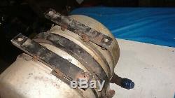 Dry sump oil tank dirt late model pump asa arca nascar imca wissota ump afco
