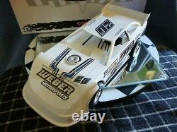 Duane Chamberlain #20 1/24 2020 Dirt Late Model ADC NEW BODY Red Series