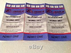 Eldora Speedway Tickets, Dirt Late Model Dream Week (3 Each For Fri And Sat)