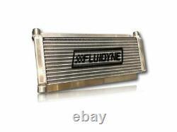 FLUIDYNE PERFORMANCE Oil Cooler Dirt Late Model 12AN 17.5in x 6in DB-30404-DRT