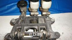 Hanging pedal set brake clutch imca asa arca dirt late model wilwood tilton howe