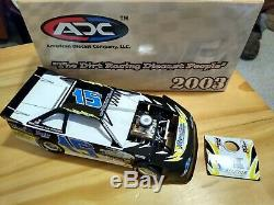 Hard to find 2003 Brian Birkhofer#15B ADC Dirt Late Model 1/24 scale Lmtd Ed
