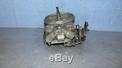 Holley 2 Barrel Carburetor 6425 650 CFM Circle Dirt Track Bomber Mud Racing