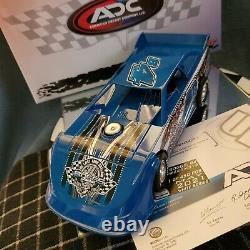 Jackie Boggs #4 2021 Dirt Late Model 124 scale ADC New Body
