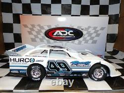 Jake Timm #49 2019 Dirt Late Model 124 scale car ADC DR220C225