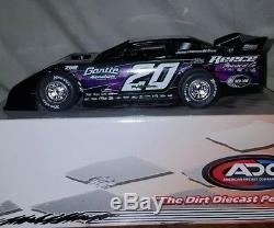 Jimmy Owens 2012 world 100 dirt late model diecast car -1/24