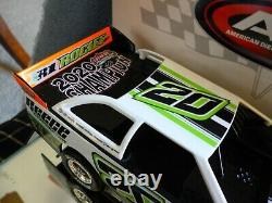 Jimmy Owens #20 2020 Champion Car Dirt Late Model 124 scale ADC New Body
