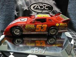 Joe Kosiski #53 2007 1/24 ADC DIRT LATE MODEL, VERY SHARP! Rare AUTOGRAPHED
