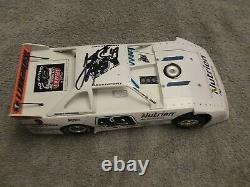 Jonathan Davenport 1/24 Dirt Late Model Diecast Signed Custom