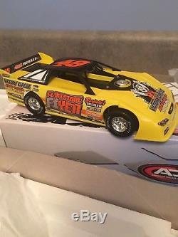 Jonathan Davenport #49 Flintstone Flyer Mike Duvall 1/24 Adc Dirt Late Model