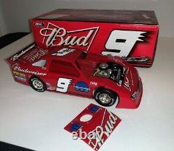 Kasey Kahne signed 2008 #9 Budweiser Dirt Late Model 1/24 ADC