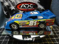 Kevin Cole #81 1/24 2008 Dirt Late Model ADC Autographed Car Red Series Rare