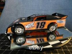 Kyle Busch #18 Custom Nos Car Dirt Late Model 1/24 ADC
