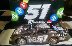Kyle Busch Autographed #51 M &M's Dirt Late Model Raced Version 1/24