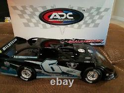 Kyle Larson 1/24 Dirt Late Model Custom DIECAST World of Outlaws withSIGNED PHOTO