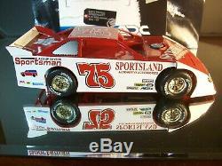 Larry Phillips #75 Sportsland Automotive Accesories Late Model Dirt Car 2007 350