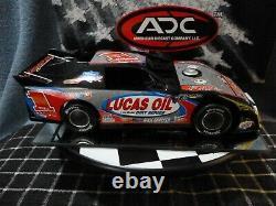 Lucas Oil #1 1/24 2008 Dirt Late Model ADC Red Series Car Rare