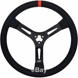 MPI MPI-DM-15-A Dirt Late Model/Modified Steering Wheel 15 Diameter Aluminum with
