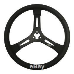 MPI Sprint/Dirt Late Model Black 15 in Diameter Steering Wheel P/N MPI-D-15-A