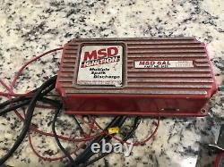 MSD 6AL Box & Blaster Coil Dirt Late Model Modified IMCA Wissota UMP Race Car #2
