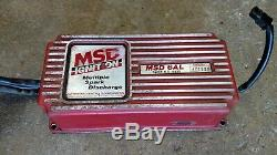 MSD 6AL Electronic Ignition Box 6420 NASCAR Dirt Modified Late Model NHRA Race