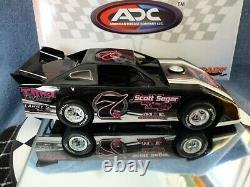 Matt Wiedner #7 Dirt Late Model 124 scale ADC Custom