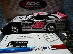 Michael Page #18x 2020 Dirt Late Model 124 scale ADC New Body