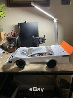 Mutant Launcher 1/10 Dirt Late Model Brushless RC! Carbon