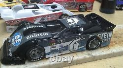 New Dirt Latemodel Ready to Race Car WOW! Black #6