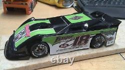 New Dirt Latemodel Ready to Race Car WOW! Black & Green #18
