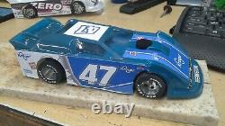 New Dirt Latemodel Ready to Race Car WOW! Blue #47 Very Sharp